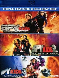 Spy Kids/Spy Kids 2 The Island of Lost Dreams/Spy Kids 3 Game Ov