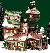 DEPT 56 NORTH POLE TOOTS MODEL TRAIN