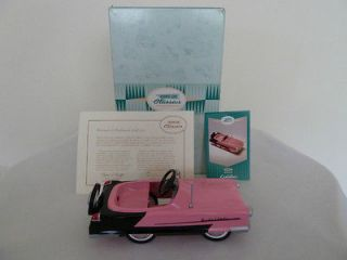 Diecast Kiddie Car Pink 1956 Garton Kidillac New in Box Pedal Car