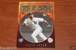 Newly listed 2009 Topps Ring Of Honor #RH8 Derek Jeter