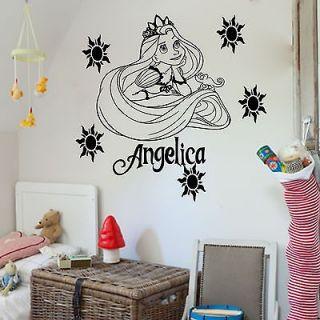 Disney Princess RAPUNZEL TANGLED Wall Sticker Art Decal Mural Vinyl