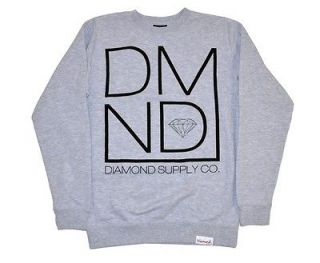 Diamond Supply Co   Mod Crewneck   New winter 2012   Gray