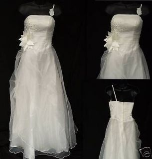 NEW Destination Wedding Dress Bridesmaid Prom Gown L ** Clearance