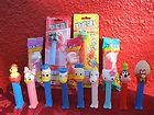 14 Pc Lot Pez Candy Dispenser Disney Muppets Snoopy Warners Goofy