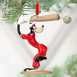 GOOFY Christmas Ornament Mickey Mouse Clubhouse Baseball
