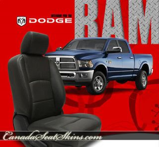 dodge ram leather seats
