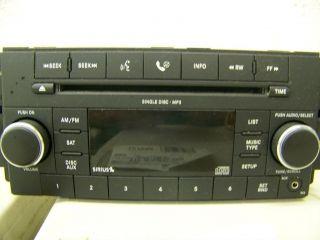 DODGE RAM 1500 2500 2009 2010 2011  2012 1 CD  RADIO SATELLITE