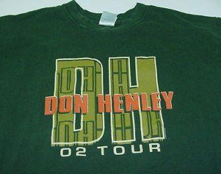 DON HENLEY The Eagles 2002 CONCERT TOUR T SHIRT Sz Mens L