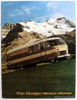 Dodge c 1964 1966 Travco Motorhome RV Sales Brochure