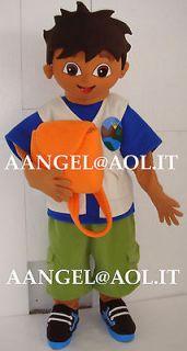 Go Diego Go   Deluxe Diego Halloween Costume   Child Size Medium