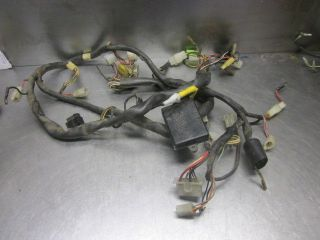 xj650 wiring harness xj650 image wiring diagram yamaha yfz450 wiring harness 5tg 82590 00 0 0 on xj650 wiring harness