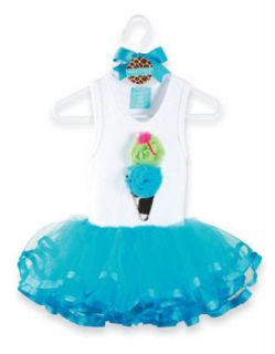 Mud Pie Wild Child Giraffe Tutu Dress 0 6, 12 18M, 2 3T