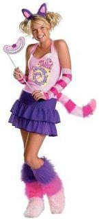 Alice in Wonderland The Cheshire Cat Teen Costume S (4 6) *New*