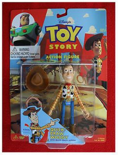 Woody Quick Draw Action Toy Story ThinkWay Toys action figure