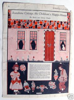 doll house in Paper Dolls