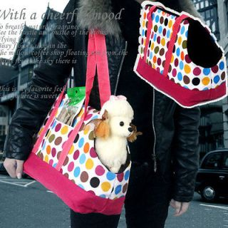 Dot Portable Dog tote Crate Carrier House Kennel Kennel Pet Travel Bag