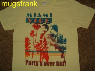 Miami Vice Tv Show Crockett & Tubbs Partys Over Kid T Shirt