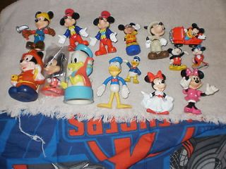 Lot Of 15 Mickey Mouse And Friends Minnie,Donald Duck Figures