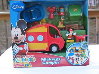 Fisher Price   Disney   Mickey Mouse Clubhouse   Mickeys Camper Set