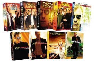 CSI Miami   Seasons 1 9 (DVD, 2011, 60 Disc Set)