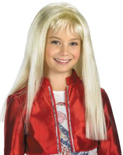 Childs Hannah Montana Blonde Dress Up Costume Wig