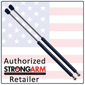 Two USA Made Rear Glass Lift Supports (Shocks/Struts /Arm Props/Gas