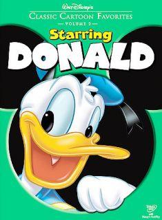 Walt Disneys Classic Cartoon Favorites Starring Donald (DVD, 2005)