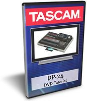 Tascam DP 24 DVD Video Tutorial Manual Help
