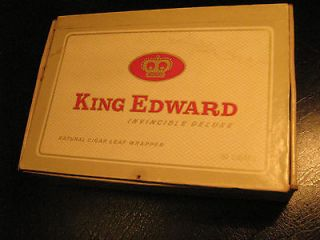 Cigar Box KING EDWARD Invincible Deluxe [Y32d]