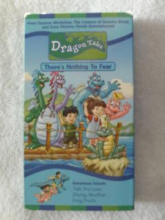 Dragon Tales #11 Theres Nothing To Fear VHS