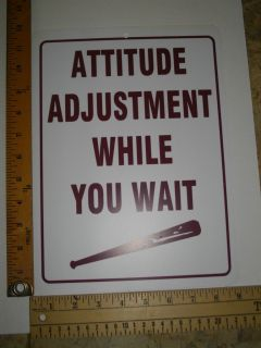 ADJUSTMENT signs, others 4x4 GOLF CART PARKING, POW, WARNING, BIKER