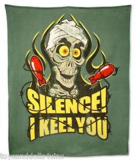 Jeff Dunham New Achmed the Dead Terrorist I Keel You Plush Throw