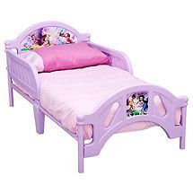 Delta Disney Princess Pretty Pink Toddler Bed, new