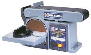 King Canada Tools KC 705L 5 BELT DISC SANDER 1/2 HP