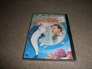 THE INCREDIBLE MR. LIMPET BRAND NEW FACTORY SEALED DVD DON KNOTTS