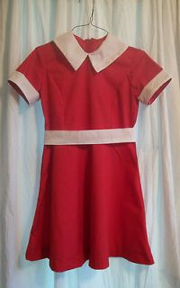 Newly listed ORPHAN ANNIE RED DRESS/COSTUME   SZ 8/10  NEW