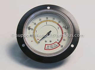 Newly listed Flange Mount Air Inflation Gauge for Coats Tire Changers