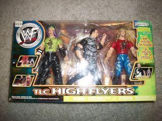 WWE WWF JEFF HARDY/BUBBA RAY DUDLEY/EDGE TLC HIGH FLYERS JAKKS 2001