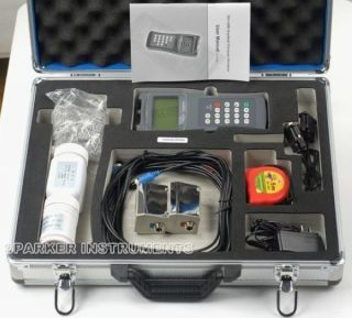New TDS 100H M2+S1 Ultrasonic Flow Meter Flowmeter Clamp on Sensor