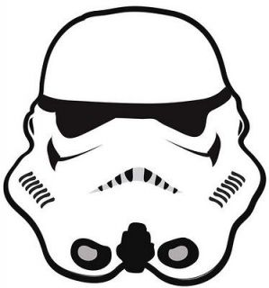 Star Wars Storm Trooper Shaped Rug / Play mat   Officially Licensed