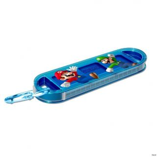 Newly listed DSi 3DS DS Lite XL   Blue Super Mario Sliding Game Case
