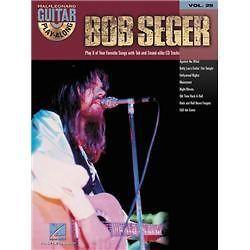 Hal Leonard Bob Seger Guitar Play Along Series Book with CD