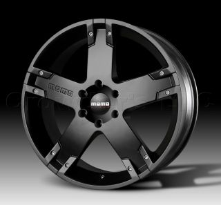 MOMO Car Wheel Rim Storm G.2 Matte Black 22 x 9.5 inch 6 on 5.5mm