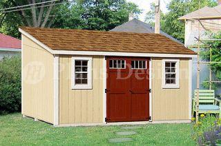 storage building plans free