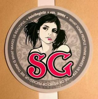 Suicide Girls Strange IsWhat Makes Us Beautiful Sticker