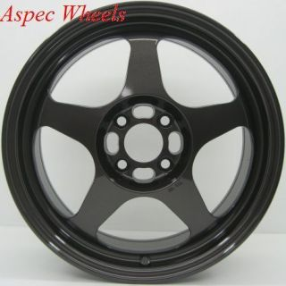 15X6.5 ROTA SLIPSTREAM RIM 4X100 WHEELS FITS 4 LUG CIVIC CRX XA XB