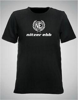nitzer ebb tee shirt, size and colour choice