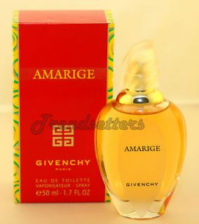 Givenchy AMARIGE for Women Mujer Ladies1.7oz/50 ml Eau de Toilette