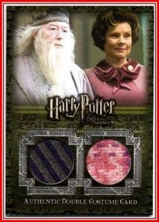Ci4 Albus Dumbledore Umbridge Double Costume Trading Card Harry Potter