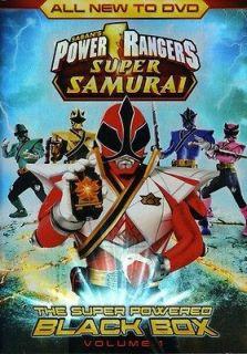 Rangers Super Samurai, Vol. 1: The Super Powered Black Box [DVD New